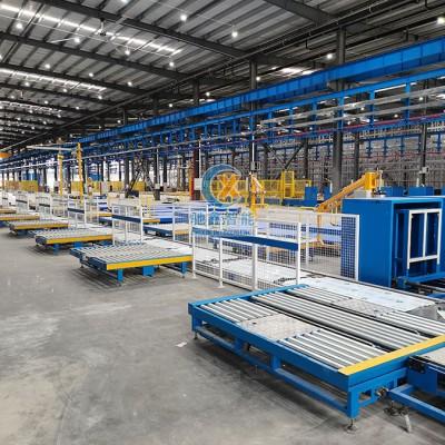 电气行业堆垛机智能立体仓库