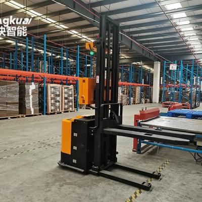印刷包装行业的AGV无人叉车立体库