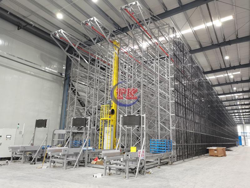 单立柱堆垛机自动化立体仓库
