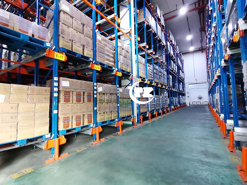 粮油行业-穿梭车货架系统