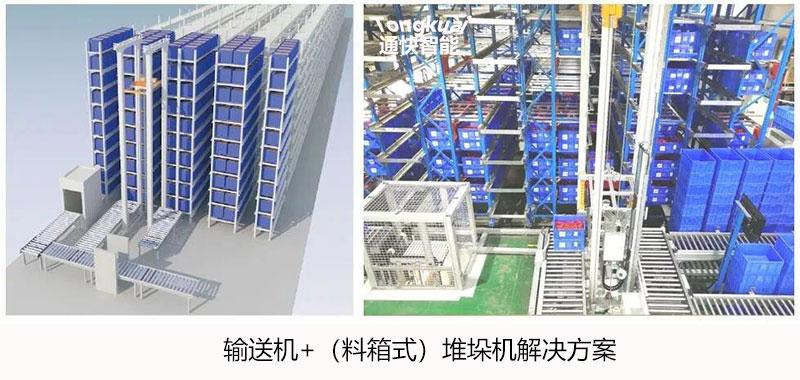 输送机+堆垛机解决方案