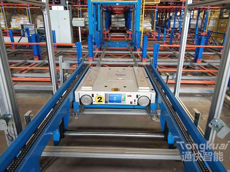 托盘式四向穿梭车式自动化密集仓储系统的规划