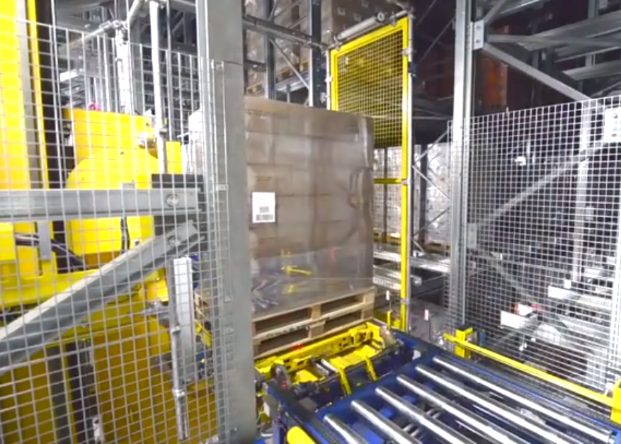为食品行业提供搭载多层穿梭车的自动化存取系统