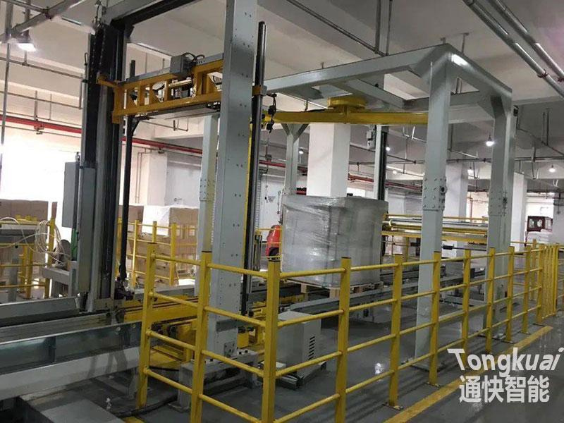 化工行业自动化立体库