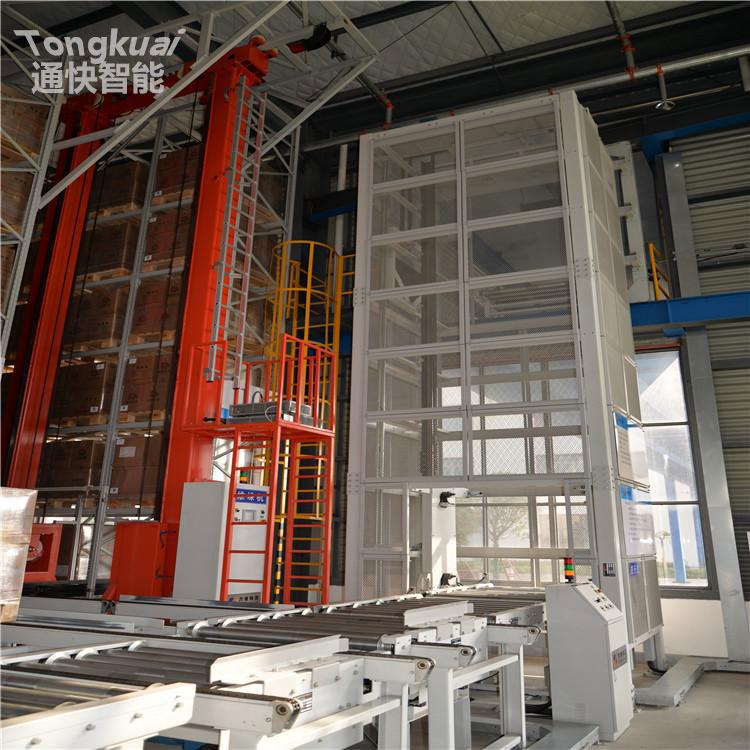 生物技术行业自动化立体仓库