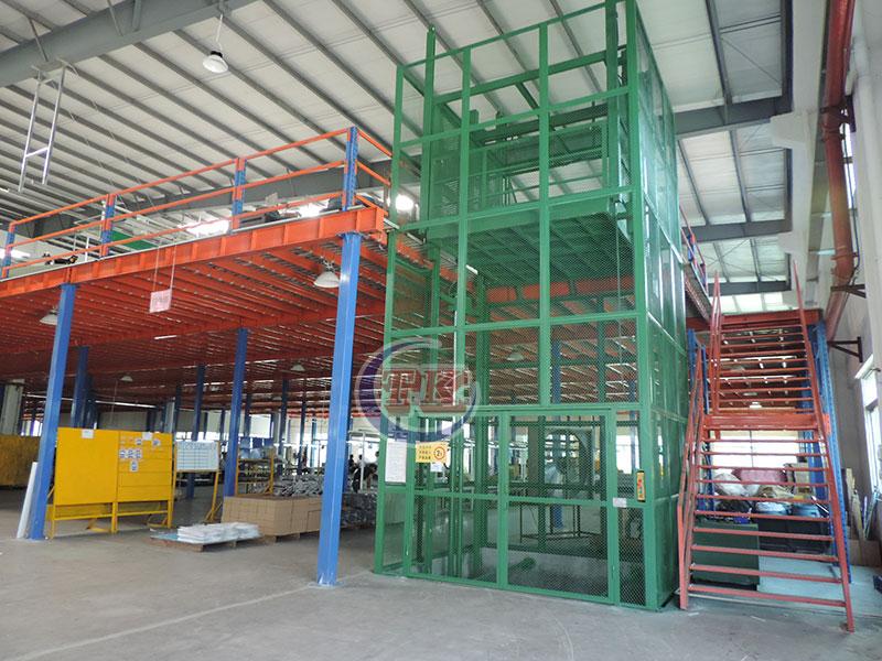 二层阁楼钢平台
