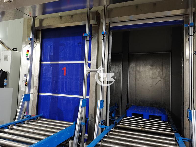 库架一体式自动化立体冷库应用概述