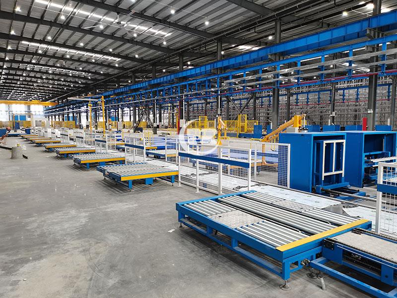 电力能源行业堆跺机全自动化仓库